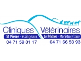 Clinique vétérinaire du Pêcher à Monistol sur Loire et Clinique Vétérinaire Saint Pierre à Yssingeaux
