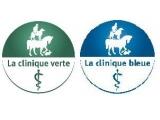 Les Cliniques Bleue et Verte